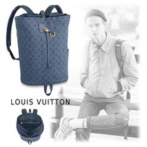 Louis Vuitton 2019-20AW BACKPACK denim one size backpack