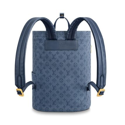 Louis Vuitton Backpacks 2019-20AW BACKPACK denim one size backpack 3