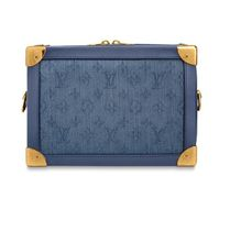 Louis Vuitton 2019-20AW MONOGRAM DENIM SOFT TRUNK blue one size bag