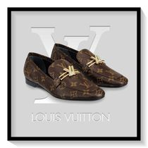 Louis Vuitton Monogram Casual Style Blended Fabrics Leather
