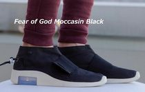 FEAR OF GOD Moccasin Unisex Street Style Collaboration Plain