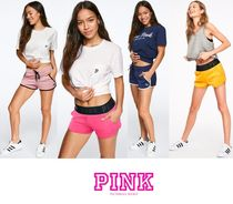 Victoria's secret PINK Short Casual Style Nylon Blended Fabrics Street Style Shorts
