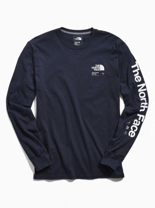 THE NORTH FACE Long Sleeve Pullovers Street Style Long Sleeves Plain Cotton 8