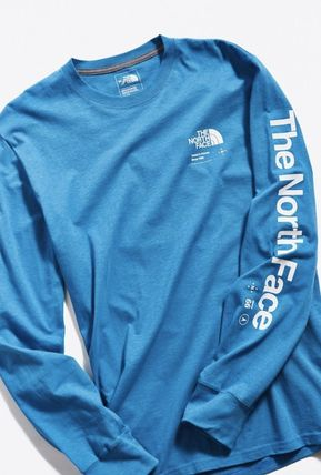 THE NORTH FACE Long Sleeve Pullovers Street Style Long Sleeves Plain Cotton 14