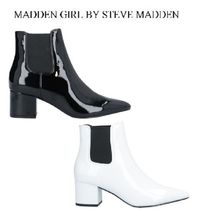 Madden Girl Round Toe Casual Style Faux Fur Street Style Plain