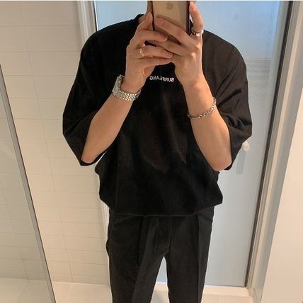 ASCLO More T-Shirts Cotton Short Sleeves Oversized T-Shirts 7
