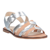 JIL SANDER NAVY Plain Leather Sandals