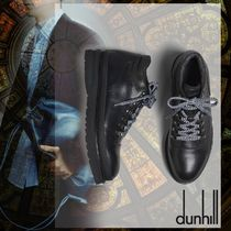 Dunhill Mountain Boots Street Style Plain Leather Outdoor Boots