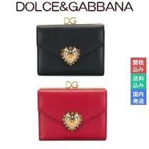 Dolce & Gabbana Calfskin Folding Wallets