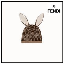 FENDI Street Style Baby Girl Accessories