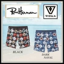 Ron Herman Dots Tropical Patterns Blended Fabrics Street Style