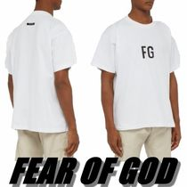 FEAR OF GOD ESSENTIALS Crew Neck Street Style Collaboration Cotton Short Sleeves