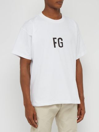 FEAR OF GOD Crew Neck Crew Neck Street Style Collaboration Cotton Short Sleeves 2