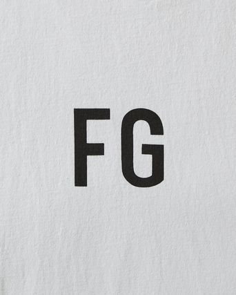 FEAR OF GOD Crew Neck Crew Neck Street Style Collaboration Cotton Short Sleeves 6