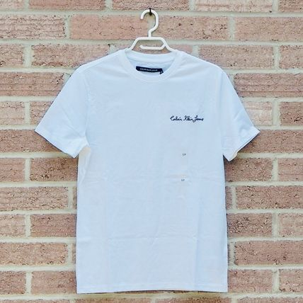 Calvin Klein More T-Shirts Unisex Street Style Plain Short Sleeves T-Shirts 5