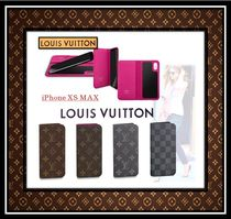 Louis Vuitton MONOGRAM Monogram Unisex Leather Smart Phone Cases