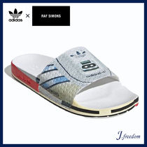 RAF SIMONS Street Style Shower Shoes Shower Sandals
