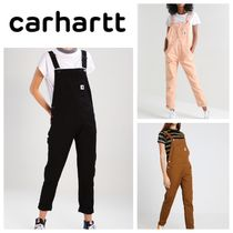Carhartt Casual Style Plain Cotton Long Bottoms