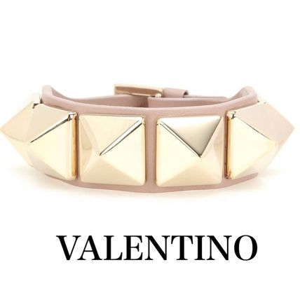 Studded Leather Elegant Style Bracelets