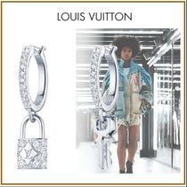 Louis Vuitton LOCKIT Blended Fabrics With Jewels Elegant Style Fine