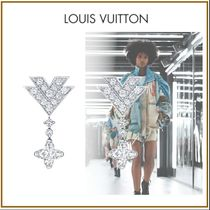 Louis Vuitton Blended Fabrics With Jewels Elegant Style Fine