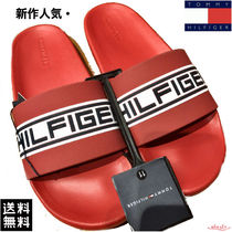 Tommy Hilfiger Stripes Unisex Street Style Shower Shoes Shower Sandals