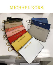 Michael Kors JET SET TRAVEL Saffiano Plain Card Holders