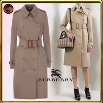 Burberry Casual Style Plain Trench Coats