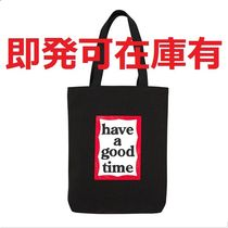 have a good time Unisex Street Style A4 Plain Totes