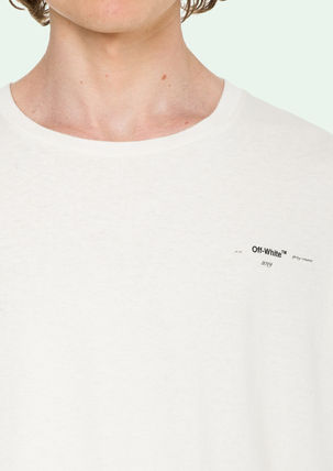 Off-White More T-Shirts Street Style Cotton Oversized T-Shirts 4