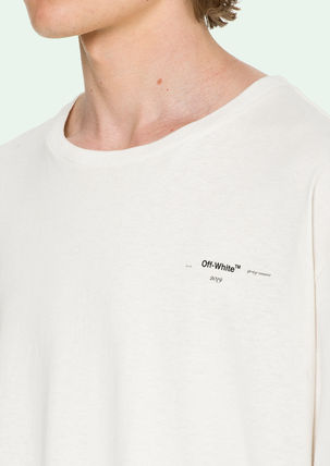 Off-White More T-Shirts Street Style Cotton Oversized T-Shirts 5