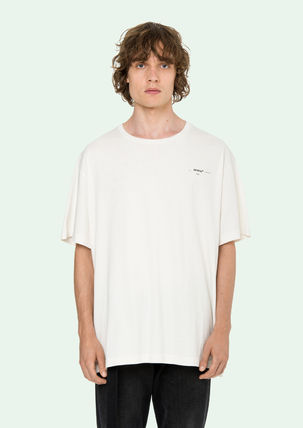 Off-White More T-Shirts Street Style Cotton Oversized T-Shirts 7