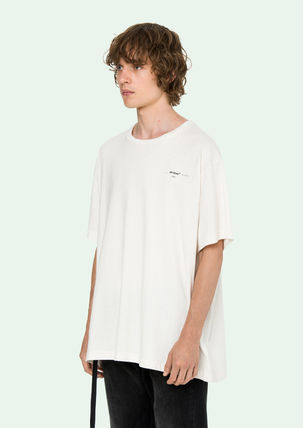 Off-White More T-Shirts Street Style Cotton Oversized T-Shirts 8