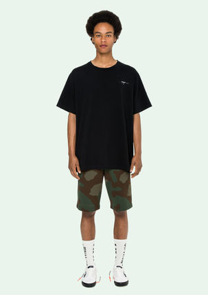 Off-White More T-Shirts Street Style Cotton Oversized T-Shirts 11