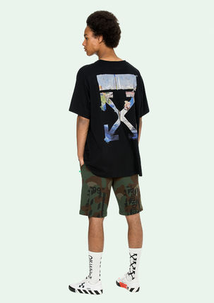 Off-White More T-Shirts Street Style Cotton Oversized T-Shirts 12