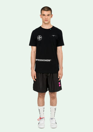Off-White More T-Shirts Street Style Cotton T-Shirts 2