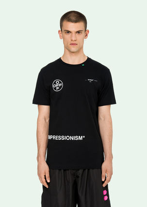 Off-White More T-Shirts Street Style Cotton T-Shirts 7