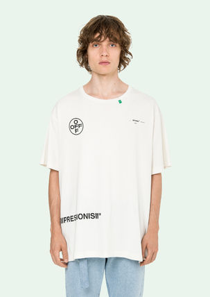 Off-White More T-Shirts Street Style Cotton T-Shirts 15
