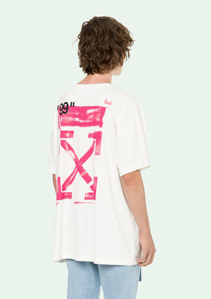Off-White More T-Shirts Street Style Cotton T-Shirts 17