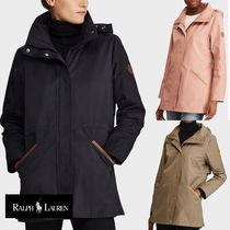 Ralph Lauren Casual Style Street Style Plain Medium Trench Coats