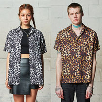 SAINTPAIN Leopard Patterns Casual Style Unisex Street Style Medium