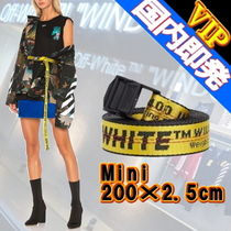 Off-White Casual Style Unisex Street Style Belts