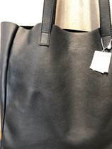 Bonpoint Plain Leather Office Style Totes