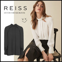 REISS Casual Style Long Sleeves Plain Shirts & Blouses