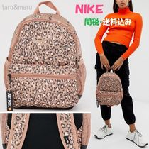 Nike Leopard Patterns Casual Style Street Style Backpacks