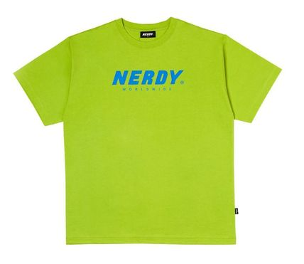 NERDY More T-Shirts [NERDY]Basic Big Logo 1/2 Sleeve T-shirt  3