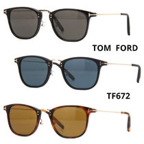 TOM FORD Unisex Square Sunglasses