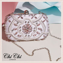 Chi Chi London 2WAY Plain Party Style With Jewels Party Bags