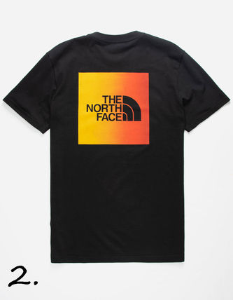 THE NORTH FACE Crew Neck Crew Neck Camouflage Street Style Cotton Short Sleeves 5