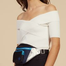 sandro Casual Style Rib Bandeau & Off the Shoulder